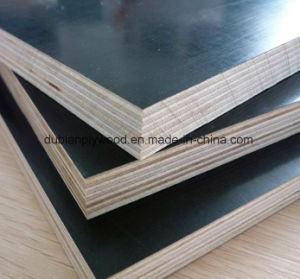 Shuttering Plywood/Marine Plywood/Waterproof Plywood/Concrete Formwork Film Faced Plywood for Construction pictures & photos