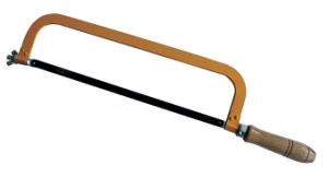 China Adjustable Hacksaw Frame with Wooden Handle (ST17020 ...