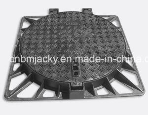 Manhole Cover Ductile Iron Class A15 / B125 / C250 / D400 pictures & photos