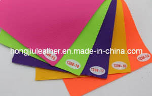Lovely Litchi Pattern Car Interior PVC Leather (Hongjiu-128#) pictures & photos