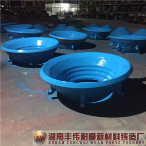 High Quality Wear-Resistant Parts High Manganese Steel Bowl Liner