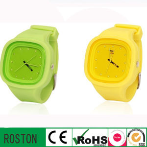 Quartz Fashion Sport Silicon Watch