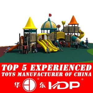 2014 Plastic Material and Outdoor Playground Type Kids Play Equipment Slides (HD14-103A) pictures & photos