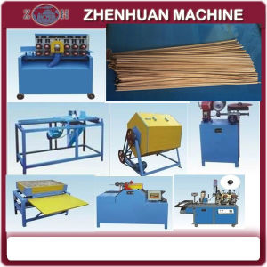 Complete Wood|Bamboo Toothpick Making Machines pictures & photos