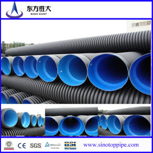 Dn300-800mm HDPE Double-Wall Corrugated Pipe for Drainage pictures & photos