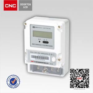 CNC DDSF726 Single-Phase Electronic Multi-Rate Watt-Hour Meter pictures & photos