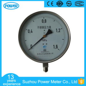 8 Inch 200mm Full Stainless Steel Pressure Gauge Manometer pictures & photos