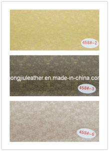 Lovely Printed Pattern PVC Decorative Leather (458#) pictures & photos