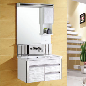 Modern Bathroom Vanity Cabinet with Mirror pictures & photos