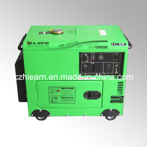 5.5kw Portable Model Silent Diesel Genset (DG7500SE) pictures & photos