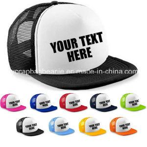 Personalised Custom Printed Half Mesh Baseball Rapper Cap Flat Peak Snapback pictures & photos