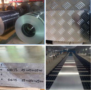 China Manufacturer Aluminium Alloy for Construction with Various Sizes pictures & photos