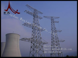 Power Transmission Line Tower-Angle Steel Tower and Tubular Tower pictures & photos
