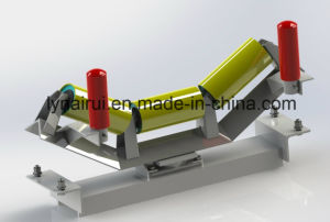 35 Degree Belt Conveyor Trough Roller with Frame pictures & photos