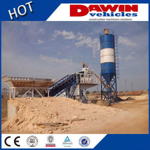 Skip Hopper Type Small Concrete Mixing Plant for Sale pictures & photos
