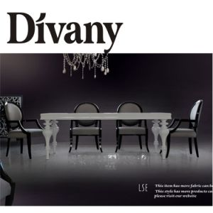 Modern Dining Room Furniture, Wood Glass Dining Table Chair (LS-307) pictures & photos