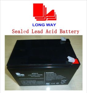 12V10ah Toys Battery Power Supplies Battery Lead Acid Battery pictures & photos