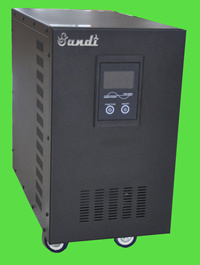 Ground Mounted System off Grid Pure Sine Wave Inverter (DC-AC) 2kw