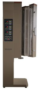 Vertical Tube Furnace with Muti Heating Zone & Vacuum Flanges pictures & photos