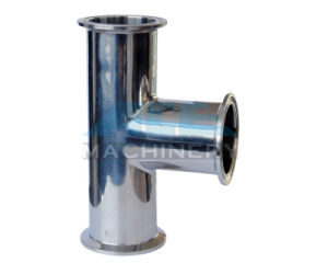 Stainless Steel Sanitary Double Bend Clamped Tee (ACE-PJ-R4) pictures & photos