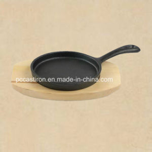 Supply Cast Iron Mini Server Cookware with Handle pictures & photos