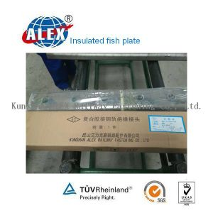 SGS Approved Insulated Rail Fishplate pictures & photos