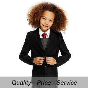 Customized Primary School Uniform Design for School Suits jacket pictures & photos