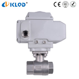 Q911f-16-Dn15 1/2 Inch Good Price Stainless Steel Electric Ball Valve pictures & photos