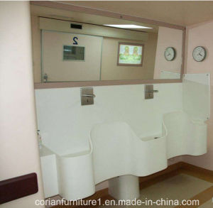 Corian Solid Surface Hospital Washing Basin pictures & photos