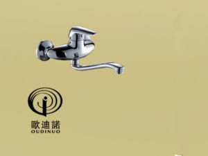 Oudinuo Single Handle Brass Bathtub Faucet 67113-1 pictures & photos