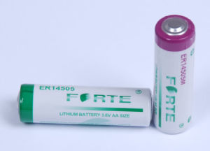 AA Size Er14505 High Capacity 3.6V Lithium Battery for Real Time Clock pictures & photos