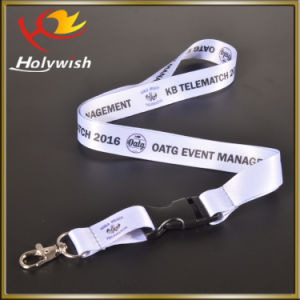 Sublimation Nylon Party Giveaways Lanyards Cool ID Card Customized