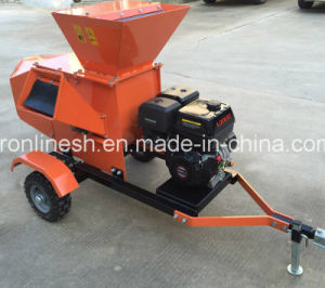 Us Favor Quad/UTV/ATV/Mini Tractor Towable/Tow-Behind 15HP Honda or Jiangdong/Loncin Engine Powered Wood Chipper/Wood Shredder/Wood Chipping Shredder Machine Ce pictures & photos