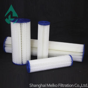 Cellulose Material Pleated Filter Cartridge pictures & photos