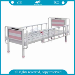 AG-BMS302 Simple Emergency Bed Professional Children′s Hospital Bed pictures & photos