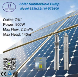3in Stainless Steel Solar DC Pump for Irrigation System 1000W pictures & photos