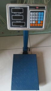 Foldable Pole Price Computing Weighing Platform Scale pictures & photos