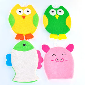 New Design High Quality New Product Baby Bath Glove