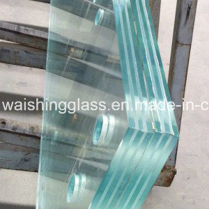10+1.52+10mm Safety Tempered Laminated Glass Floor pictures & photos