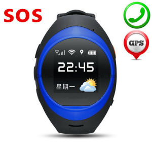 2017 New Products GPS Tracker Android mobile Watch Phone Sos Calling Elder Smart Watch pictures & photos