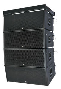 Passive Big Outdoor Line Array Speaker Three Way Dual 12 Inch pictures & photos