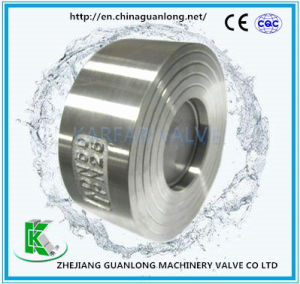 (H71H/W) Wafer Lift Type Spring Loaded Non Return Check Valve pictures & photos