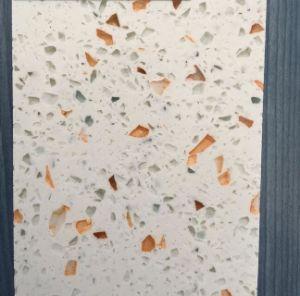 Polished Crystal White Quartz Mirror Fleck Tiles pictures & photos