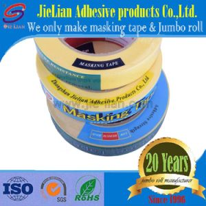 High Adhesive Automotive Yellow Masking Tape pictures & photos