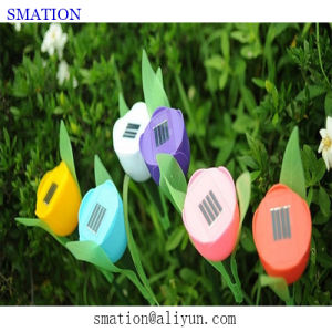 Solar RGB Fancy LED Garden Christmas Flower Decorative Acrylic Spot Bar Stick Lawn Light pictures & photos