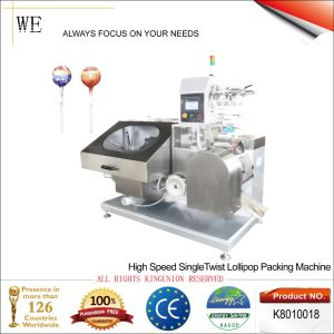 High Speed Single Twist Lollipop Packing Machine (K8010018) pictures & photos