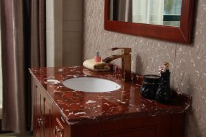 Classic Style Bathroom Furinture Solid Wood Bathroom Cabinet pictures & photos