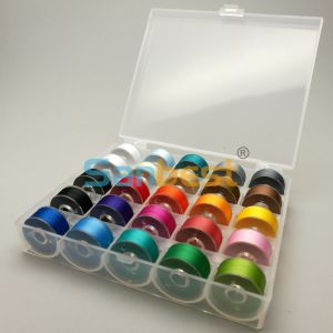 70d/2 Polyester Prewound Bobbin Thread in 25 Colors pictures & photos