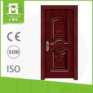 House Gate Design Cheap Price Melamine Interior Wood Door pictures & photos