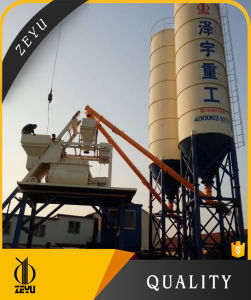 Hzs100 Concrete Batching Plant Made in China pictures & photos
